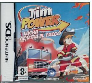Tim-Power-Lucha-contra-el-fuego-Nintendo-DS-Nuevo