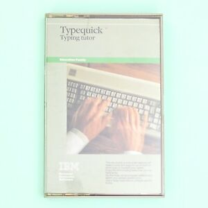 Vintage-IBM-Typequick-Typing-Tutor-Software-for-IBM-PC-PC-XT-etc-from-1980-s