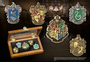 Harry Potter The Noble Collection House Crest Pins Official UK SELLER