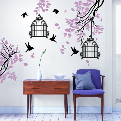 01382 Wall Stickers Adesivi Murali parete decoro muro piante Alberi 145x160 cm