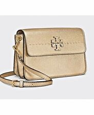 bffb8f769122 item 1 Tory Burch NEW McGraw Metallic Gold Pebbled Leather Crossbody Bag  Purse  358 -Tory Burch NEW McGraw Metallic Gold Pebbled Leather Crossbody  Bag Purse ...
