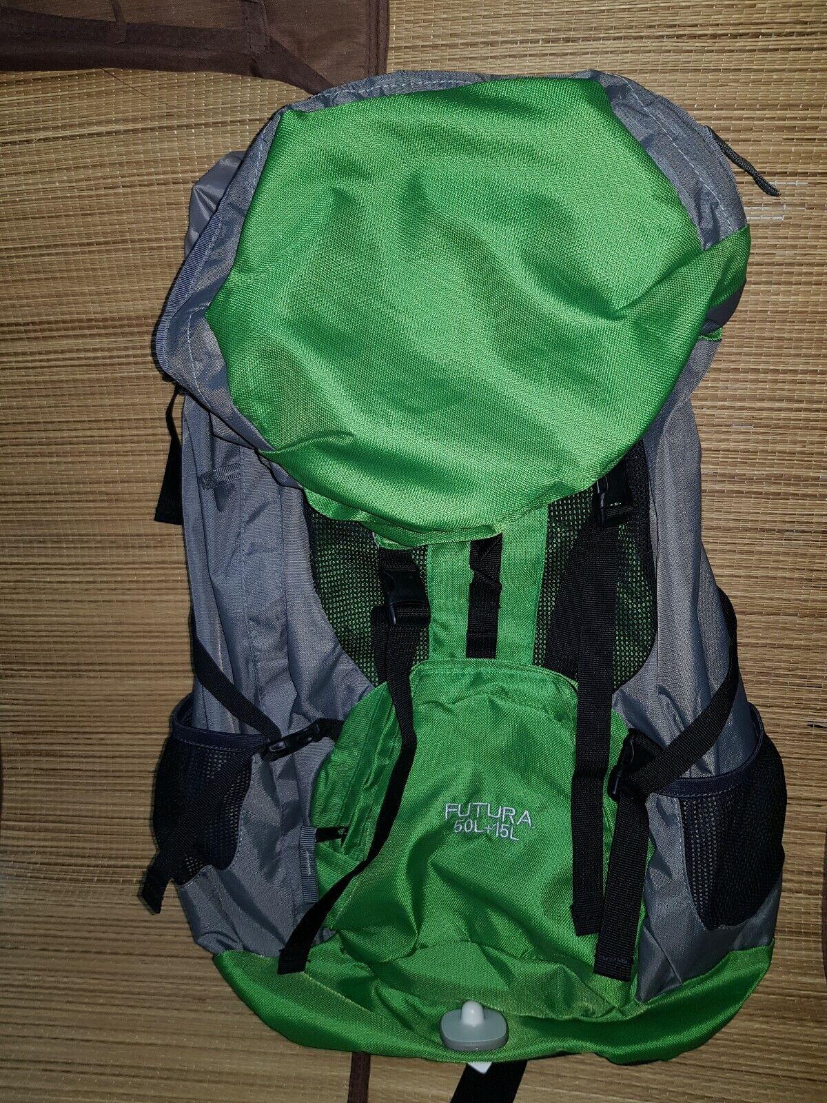 Zaino per passeggiate, trekking,MONTAGNA , campeggio, viaggi, volume 50 + 15l