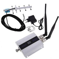 900Mhz Cell Phone Signal GSM Repeater Booster Amplifier + Yagi Antenna
