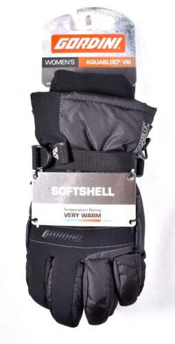 Black 3G2176 />NEW/< GORDINI Women/'s AquaBloc VIII Gloves Sz M//Medium