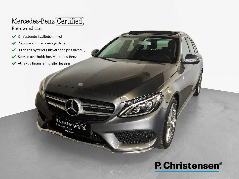 Mercedes C300 2,0 AMG Line stc. aut. 5d - 519.900 kr.