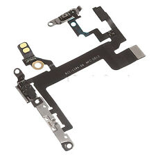 100% Original iPhone 5S Power, Volume & Mute Button Flex Cable with Brackets