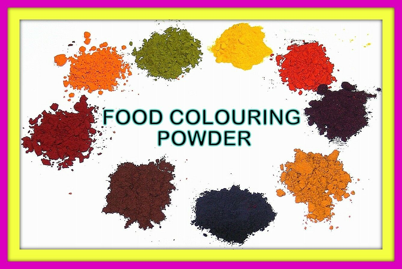 Food Colouring 1000 gram Powder Concentrated for Craft Cake Bake Icing Desserts