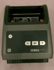 Zebra Zd621 Thermal Label Printer No Cords Missing Plastic Coverpiece Used