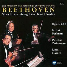 BEETHOVEN: STRING TRIOS OPP. 3, 8 & 9 NEW CD