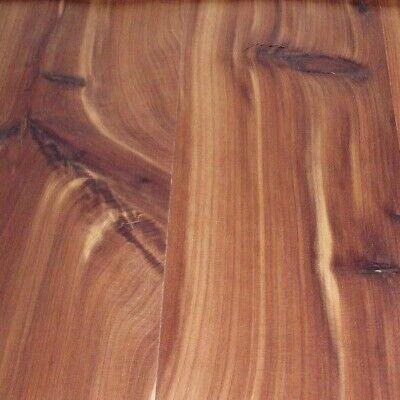 Aromatic Cedar Knotty Plank wood veneer 24 x 48 on paper backer 1//40 A grade
