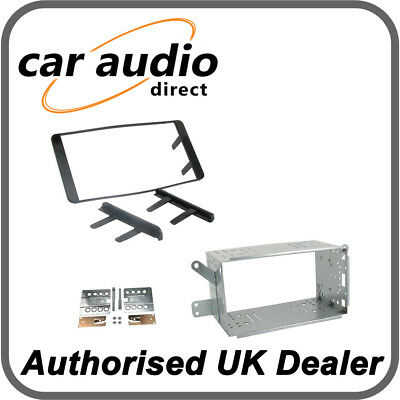CT23TY03 Black Double DIN Fascia Facia Adaptor Kit For Toyota Hilux 2007-2012