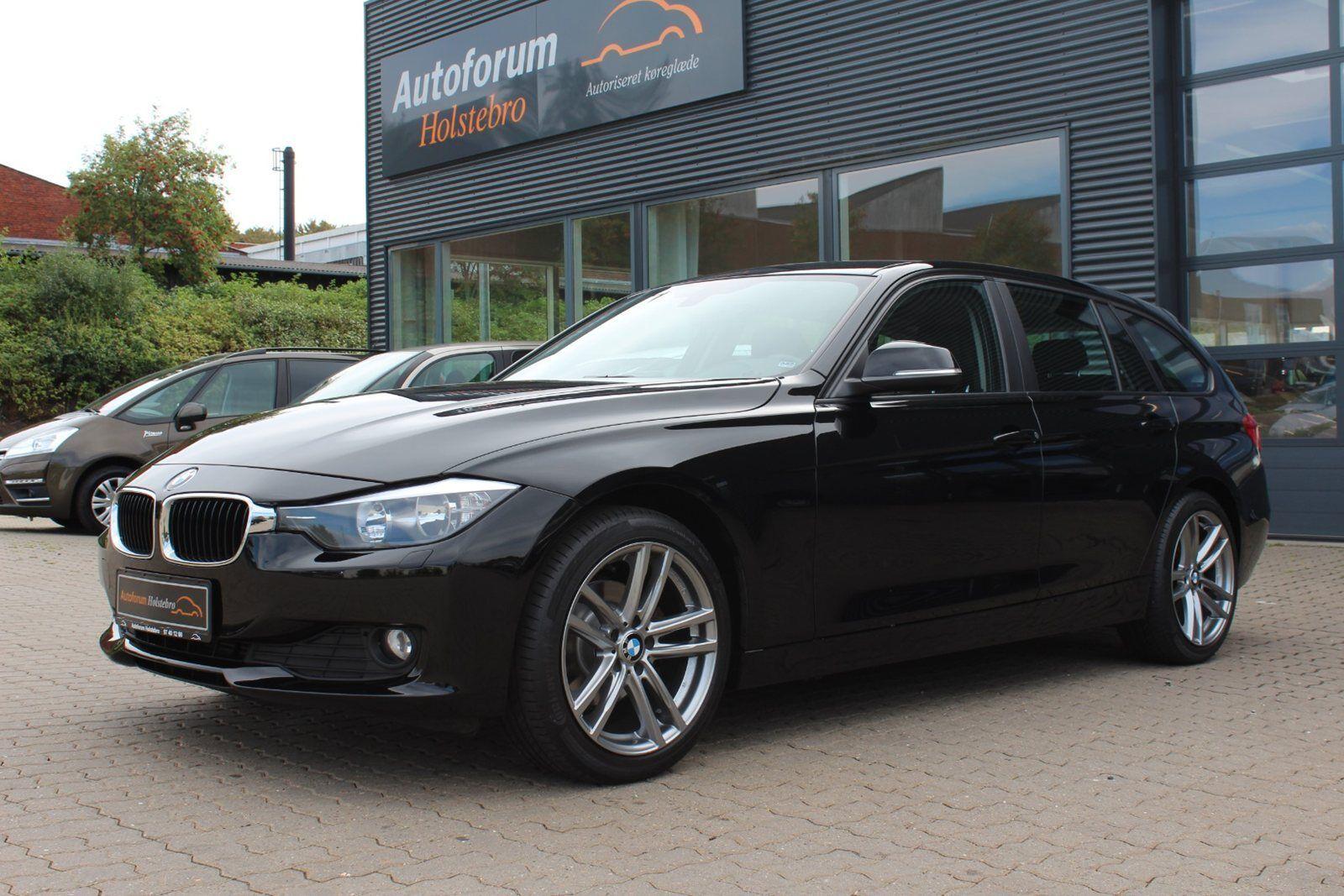 BMW 318d 2,0 Touring 5d - 204.800 kr.
