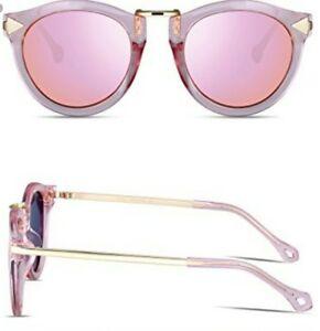 50c7d665243 Image is loading ATTCL-Vintage-Fashion-Round-Arrow-Pink-Polarized-Sunglasses -