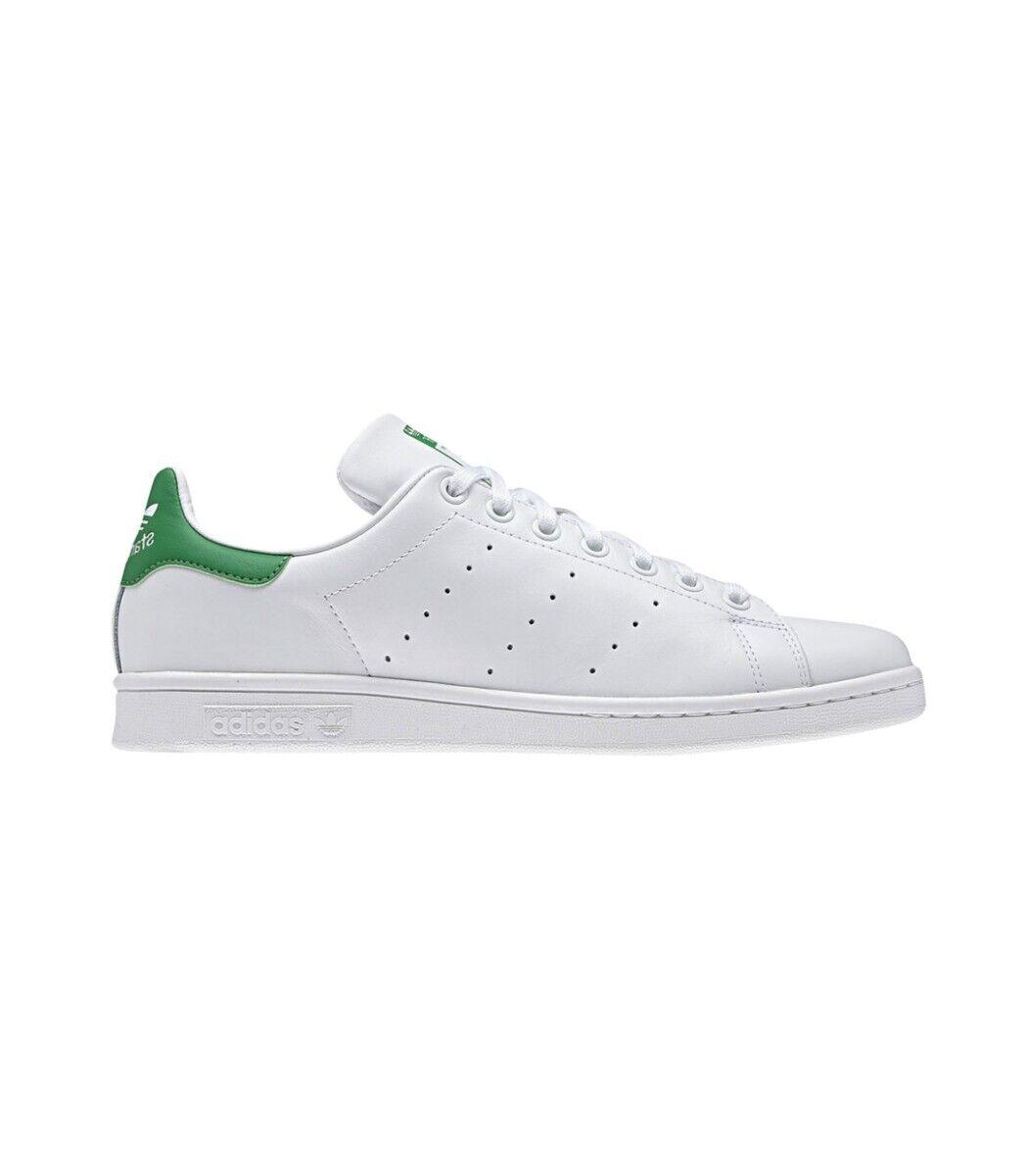 Adidas Stan Smith Hombre Running Zapatilla blancoo verde Rrp    -
