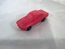 Stelco W. Germany BMW Plastik Vynil Gummi Model Auto (Red) !