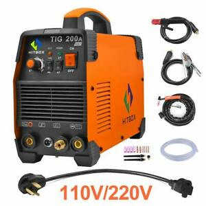 HITBOX-TIG200-ATIG-Welder-110V-200V-Double-Volt-MMA-ARC-LIFT-TIG-Welding-Machine