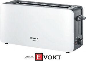 Bosch Tat6a001 Comfortline Long Slot Toaster White1090w