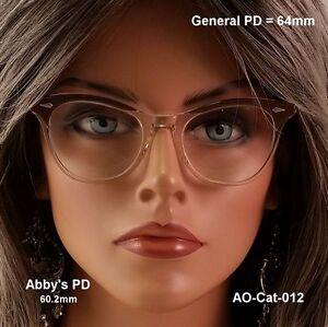American-Optical-Cat-Eye-True-Vintage-eyeglasses-amp-Case
