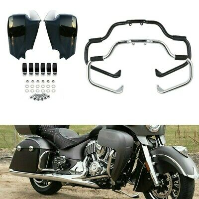 Chrome Mustache Highway Engine Guard Crash Bar For Indian Roadmaster Chieftain