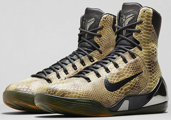 Brand new Nike Kobe 9 Elite EXT 'Snakeskin' 7.5uk - 42eu