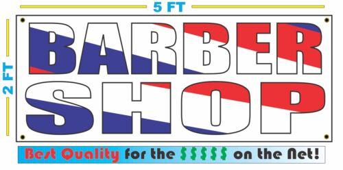 BARBER SHOP Barber Pole Color Design Banner Sign NEW Larger Size Best Quality