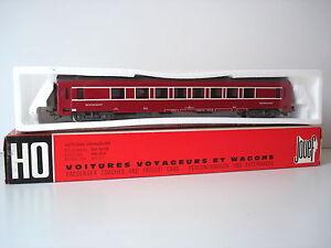 VOITURE-RESTAURANT-DEV-SNCF-ROUGE-JOUEF-REF-8690
