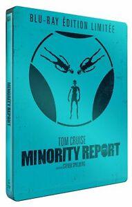 Minority-Report-Edition-Limitee-boitier-SteelBook-BLU-RAY-NEUF
