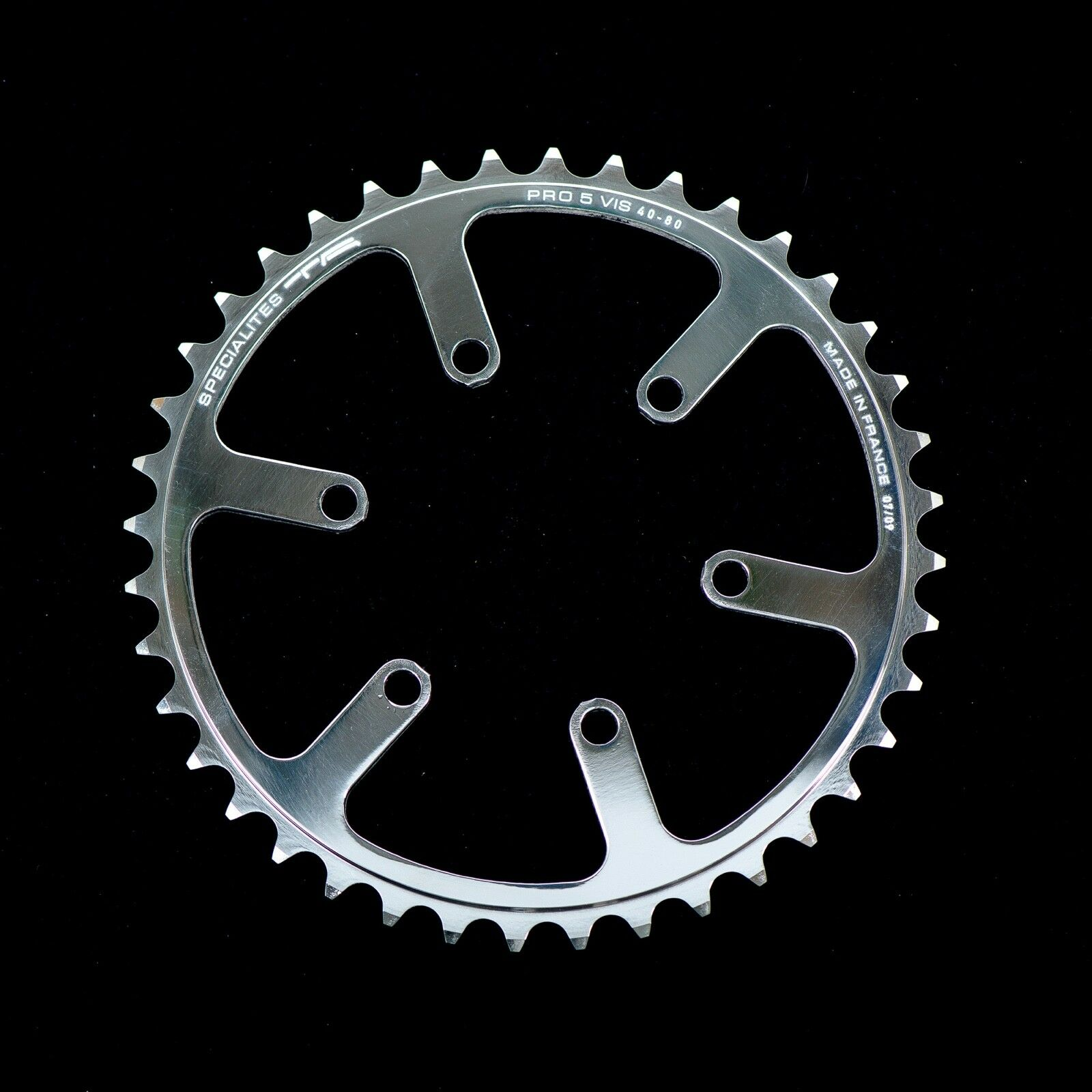 Specialites TA 208- Cyclo-Touriste Inner Chainring for Cyclo-Touriste 44T BCD 80