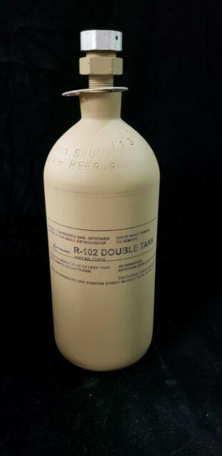ANSUL R1-02 Double Tank Nitrogen Cartridge 073022 for sale online