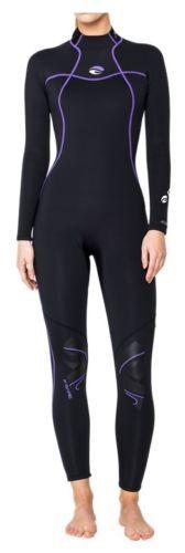 BARE Nixie Full 7mm Diving Suit Size XS - XL Women's Wetsuit