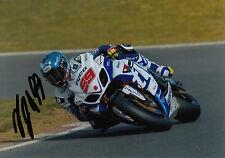PJ Jacobsen Hand Signed Tyco Suzuki 7x5 Photo BSB 1.