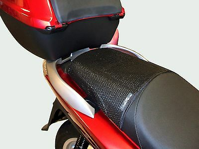 TRIBOSEAT Anti Slip Motorcycle Passenger Seat Cover Black Accessory Compatible With Honda CB500X 2013-2018