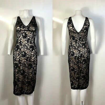 rare vtg dolce  gabbana 90s black lace corset dress xs  ebay