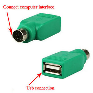 2x-USB-Female-in-to-PS2-Male-Adapter-Converter-For-Computer-Keyboard-Mouse-Hot