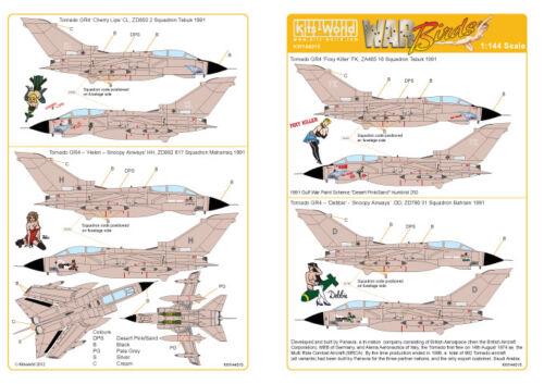 4 Operation Desert Storm # 144015 Kits-World 1//144 Tornado GR
