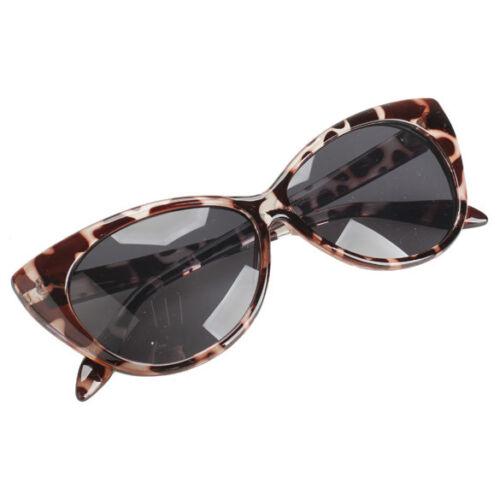 Sonnenbrille Cat Eye Retro Vintage Blogger Kendall Style Schwarz Leo 2019 NEU