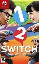 1-2-SWITCH for Nintendo Switch  - FREE SHIPPING - One Two Switch