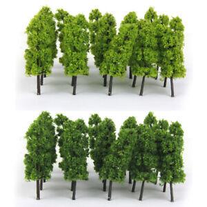 20 Pagoda Trees Model Train Railroad Scenery Wargame Diorama Z Scale 1:200
