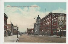 Canada, Main Street Looking South, Moose Jaw Sask. Postcard, B150