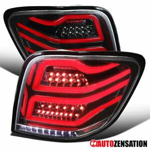 For-2006-2011-Mercedes-Benz-W164-ML320-ML350-ML550-Slick-Black-LED-Tail-Lights