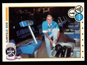 Bob-Strampe-95-signed-autograph-auto-1990-Kingpins-PBA-Bowling-Trading-Card