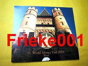 Duitsland-Allemagne-2004-BU-World-Money-Fair-Basel