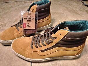 603b6561e0 New Mens Vans Sk8 Hi MTE Cup Cathay Hummus Suede Classic Skate Shoes ...