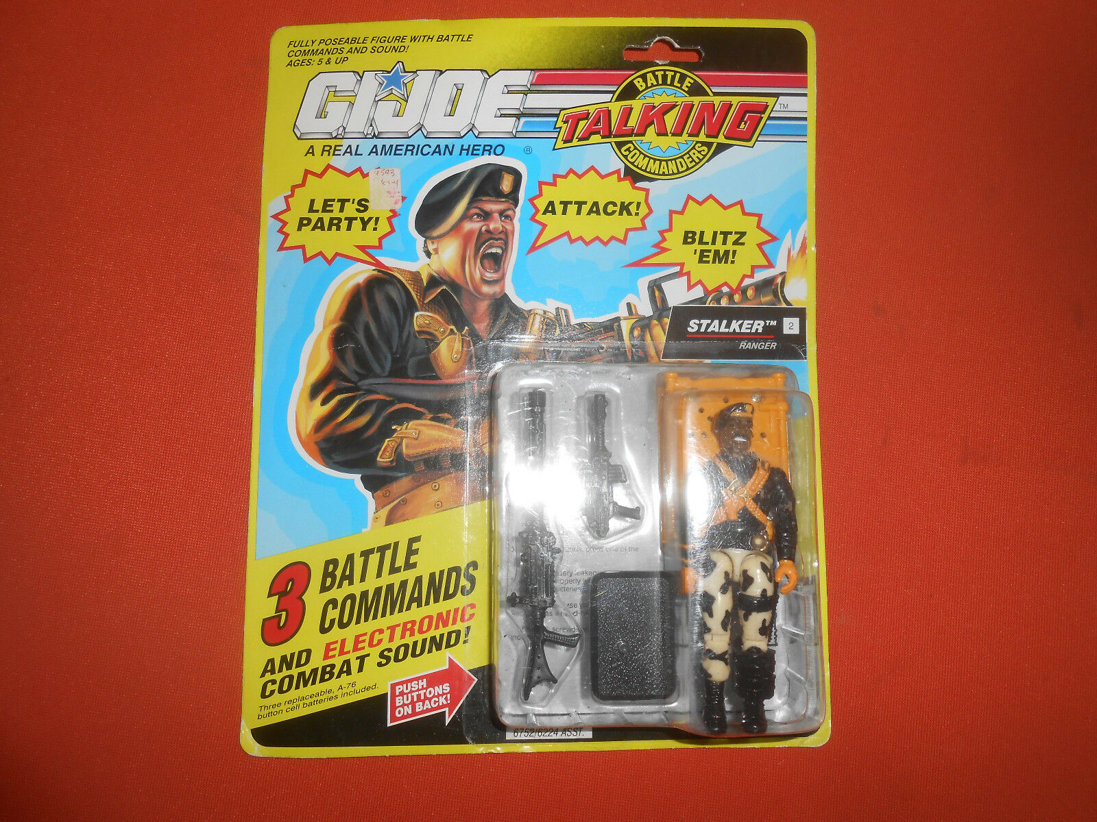G.I.JOE  ACTION FORCE   '' STALKER ''  G.I.JOE RANGER