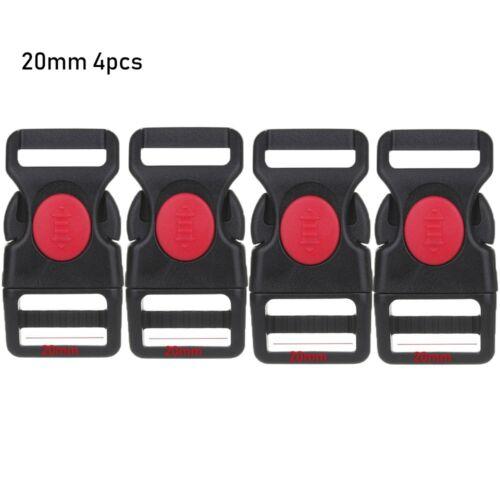 Plastic Black Curved Buckle Lock for Paracord Bracelet Side Release Buckles Nice