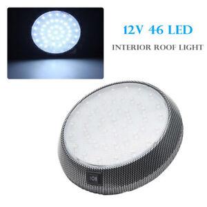 Universal-COCHE-12V-46-LED-Techo-Interior-Techo-Cupula-Lampara-de-Lectura