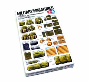 Tamiya-Military-Model-1-35-Modern-U-S-Equipment-Set-Scale-Hobby-35266