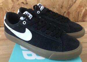 Nike-SB-Blazer-Low-GT-Black-White-Metallic-Gold-Sz-4-5-NIB-704939-017
