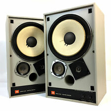 Vintage JBL 4311B Control Monitor 3-Way Bookshelf Speakers Textured Gray Finish