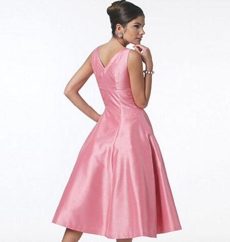 From UK Sewing Pattern Dress Full Skirt 1950/'s 6-12  #5603